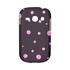 Pink bubbles Samsung Galaxy S6810 Hardshell Case