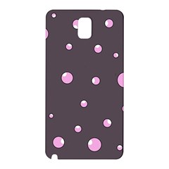 Pink bubbles Samsung Galaxy Note 3 N9005 Hardshell Back Case
