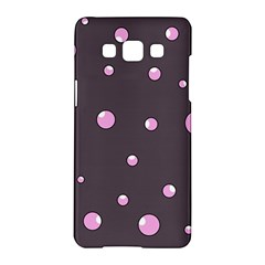 Pink bubbles Samsung Galaxy A5 Hardshell Case