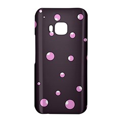 Pink bubbles HTC One M9 Hardshell Case