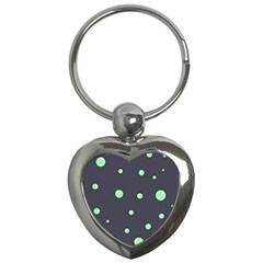 Green bubbles Key Chains (Heart)