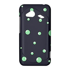 Green bubbles HTC Droid Incredible 4G LTE Hardshell Case