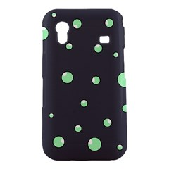 Green bubbles Samsung Galaxy Ace S5830 Hardshell Case