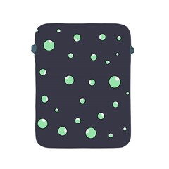Green bubbles Apple iPad 2/3/4 Protective Soft Cases