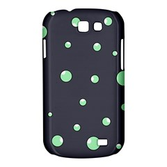 Green bubbles Samsung Galaxy Express I8730 Hardshell Case