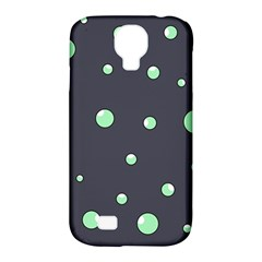 Green bubbles Samsung Galaxy S4 Classic Hardshell Case (PC+Silicone)