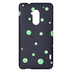 Green bubbles HTC One Max (T6) Hardshell Case