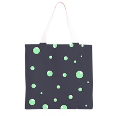 Green bubbles Grocery Light Tote Bag