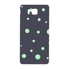 Green Bubbles Samsung Galaxy Alpha Hardshell Back Case