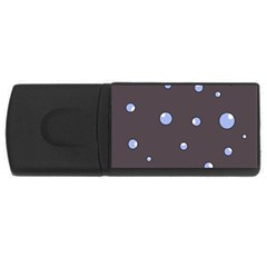 Blue bubbles USB Flash Drive Rectangular (2 GB)