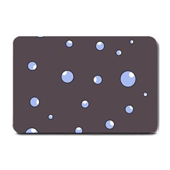 Blue bubbles Small Doormat