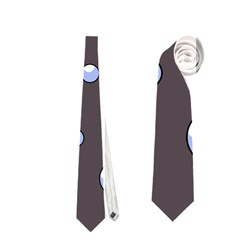 Blue bubbles Neckties (One Side)