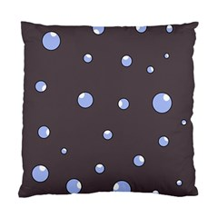Blue bubbles Standard Cushion Case (Two Sides)