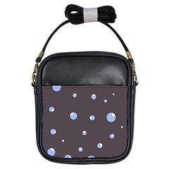 Blue bubbles Girls Sling Bags