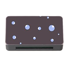 Blue bubbles Memory Card Reader with CF