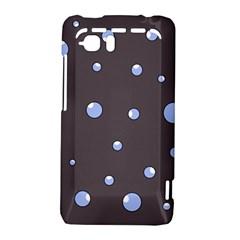 Blue bubbles HTC Vivid / Raider 4G Hardshell Case