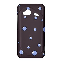 Blue bubbles HTC Droid Incredible 4G LTE Hardshell Case