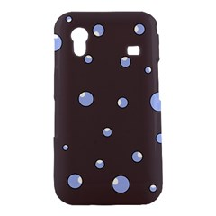 Blue bubbles Samsung Galaxy Ace S5830 Hardshell Case
