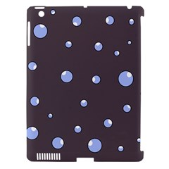 Blue bubbles Apple iPad 3/4 Hardshell Case (Compatible with Smart Cover)