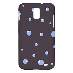 Blue bubbles Samsung Galaxy S II Skyrocket Hardshell Case