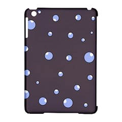 Blue bubbles Apple iPad Mini Hardshell Case (Compatible with Smart Cover)
