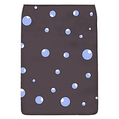 Blue bubbles Flap Covers (S)