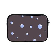 Blue bubbles Apple iPad Mini Zipper Cases