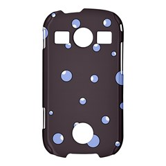 Blue bubbles Samsung Galaxy S7710 Xcover 2 Hardshell Case