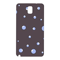 Blue bubbles Samsung Galaxy Note 3 N9005 Hardshell Back Case