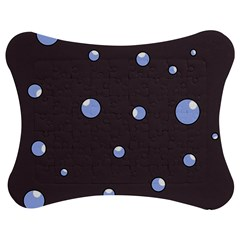Blue Bubbles Jigsaw Puzzle Photo Stand (bow)