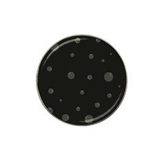 Gray bubbles Hat Clip Ball Marker (4 pack)