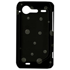 Gray bubbles HTC Incredible S Hardshell Case
