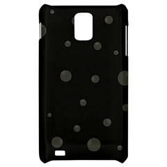 Gray bubbles Samsung Infuse 4G Hardshell Case
