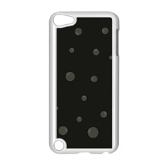 Gray bubbles Apple iPod Touch 5 Case (White)