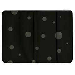 Gray bubbles Samsung Galaxy Tab 7  P1000 Flip Case