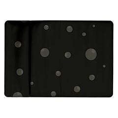 Gray bubbles Samsung Galaxy Tab 10.1  P7500 Flip Case
