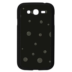 Gray bubbles Samsung Galaxy Grand DUOS I9082 Case (Black)