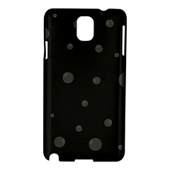 Gray bubbles Samsung Galaxy Note 3 N9005 Hardshell Case