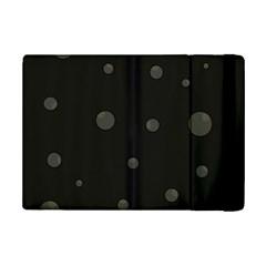 Gray bubbles iPad Mini 2 Flip Cases