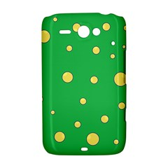 Yellow bubbles HTC ChaCha / HTC Status Hardshell Case