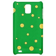 Yellow bubbles Samsung Infuse 4G Hardshell Case