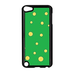Yellow bubbles Apple iPod Touch 5 Case (Black)