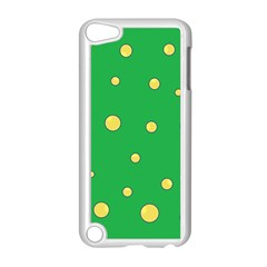 Yellow bubbles Apple iPod Touch 5 Case (White)