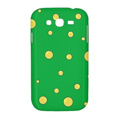 Yellow bubbles Samsung Galaxy Grand DUOS I9082 Hardshell Case