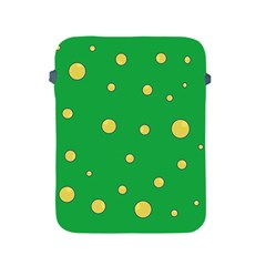 Yellow bubbles Apple iPad 2/3/4 Protective Soft Cases