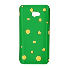 Yellow bubbles HTC Butterfly S/HTC 9060 Hardshell Case