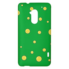 Yellow bubbles HTC One Max (T6) Hardshell Case