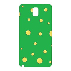 Yellow bubbles Samsung Galaxy Note 3 N9005 Hardshell Back Case