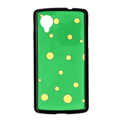 Yellow bubbles Nexus 5 Case (Black)