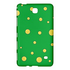Yellow bubbles Samsung Galaxy Tab 4 (8 ) Hardshell Case